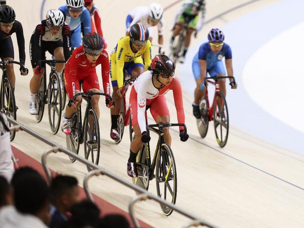 Sepekan Lagi, Pebalap Top Asia Adu Cepat di Velodrome Rawamangun