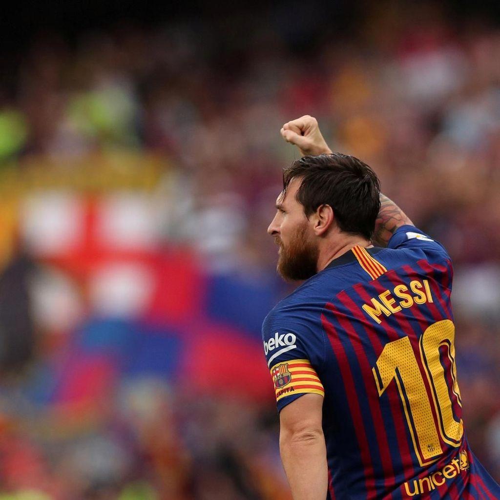 Lionel Messi, Raja Gol + Raja Assist di La Liga Spanyol