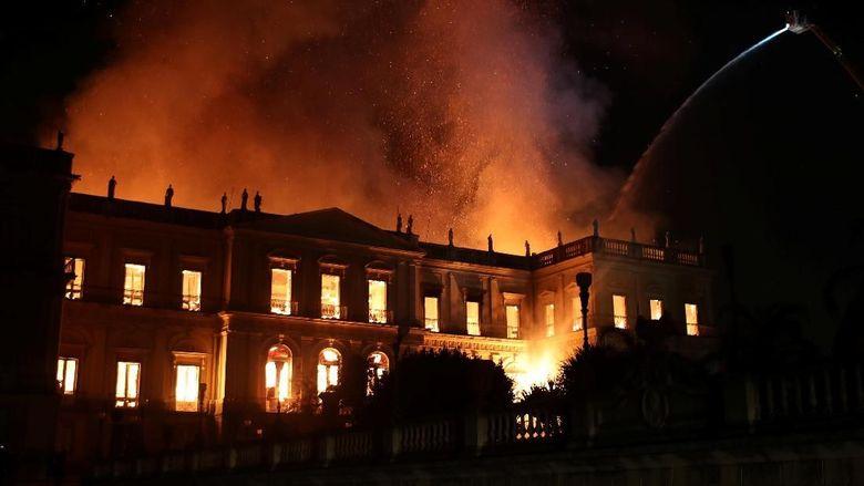 Museum Berusia 2 Abad Terbakar, Presiden Brasil: Ini Hari Tragis