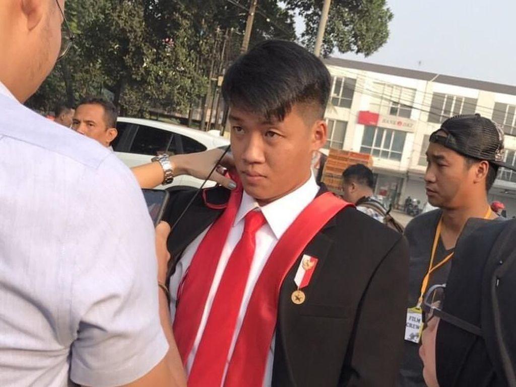 Curhat Stuntman Jokowi Tampil di Opening Asian Games