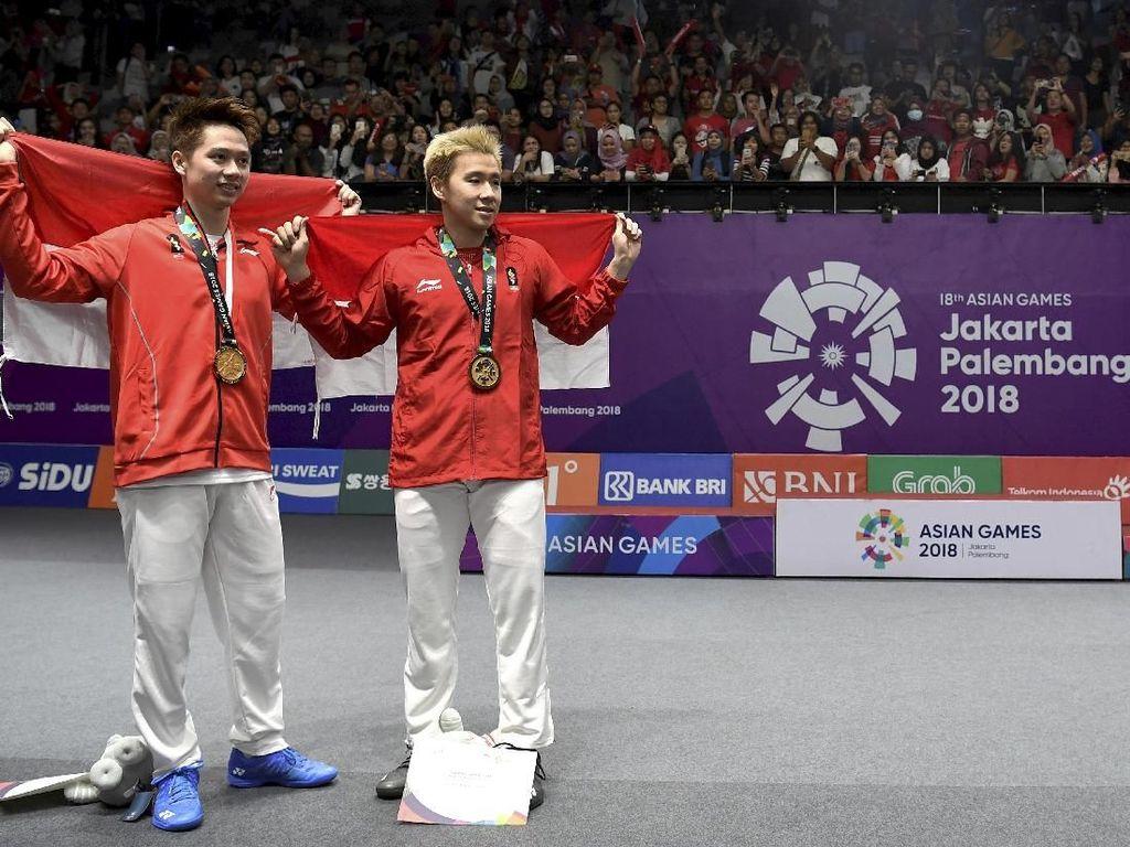 Umur Tak Jadi Penghalang Marcus Gideon Tampil di Olimpiade 2020