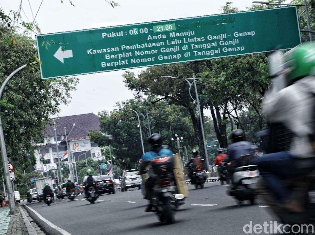Udara Jakarta yang Lebih Bersih Selama Ganjil Genap