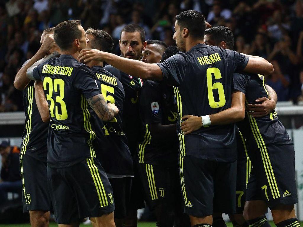 Klasemen Liga Italia: Juventus di Puncak