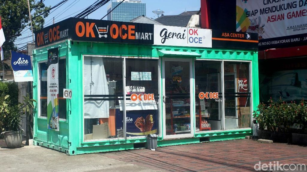 OK OCE Mart Masih Eksis Walau Sepi Pembeli
