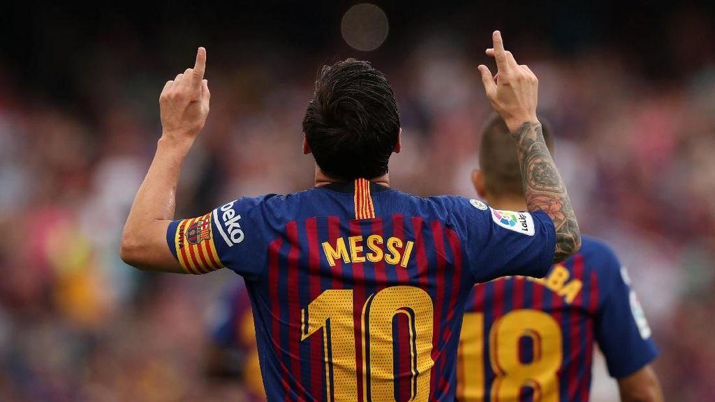 Barcelona Pesta 8 Gol ke Gawang Huesca