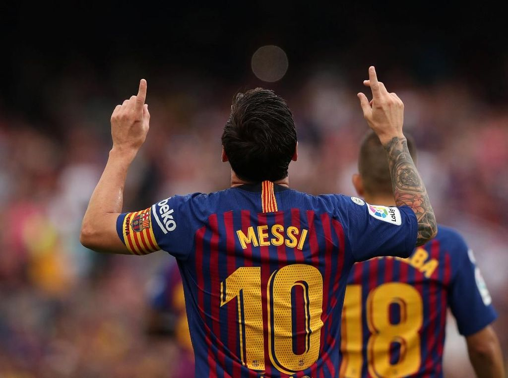 Messi dan Starting XI Pemain Paling Loyal di Liga Top Eropa