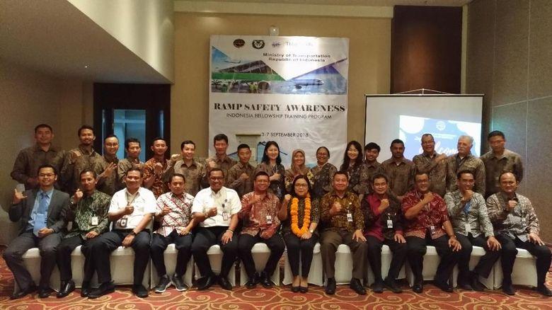 Indonesia Ajarkan Keselamatan Penerbangan ke 11 Negara di Dunia