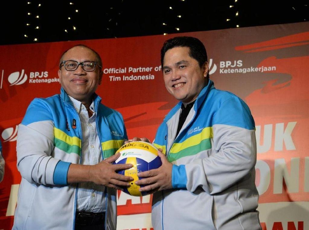 Apresiasi Tim Indonesia, BPJS TK Beri Jaminan bagi Atlet Cedera