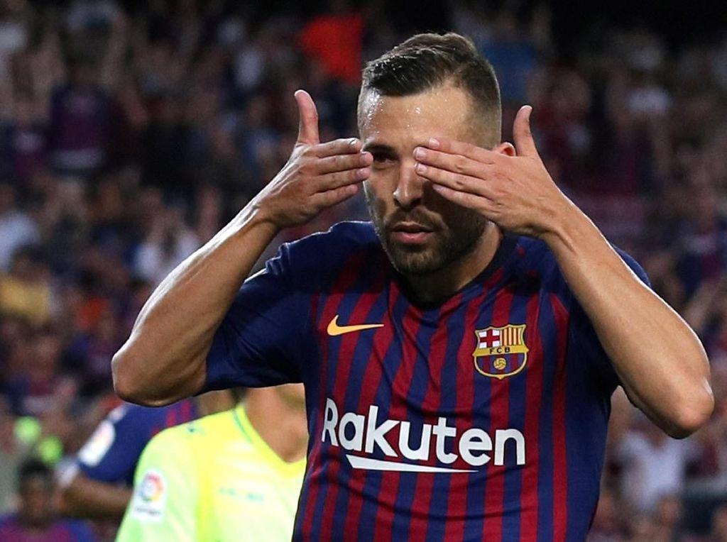 Respons Sempurna Jordi Alba Usai Dicoret dari Skuat Spanyol