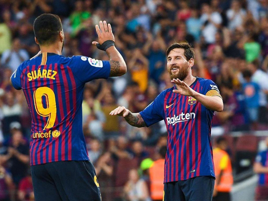 Klasemen Liga Spanyol: Barcelona dan Real Madrid Masih Sempurna
