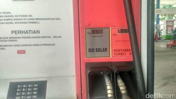 Biodiesel B20. Foto: Achmad Dwi Afriyadi