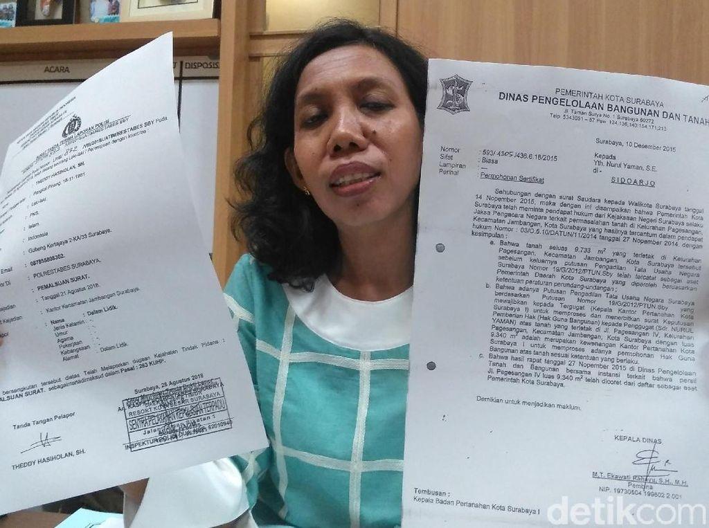 Awas Aset Pemkot Surabaya Dijual Oknum Tak Bertanggung Jawab