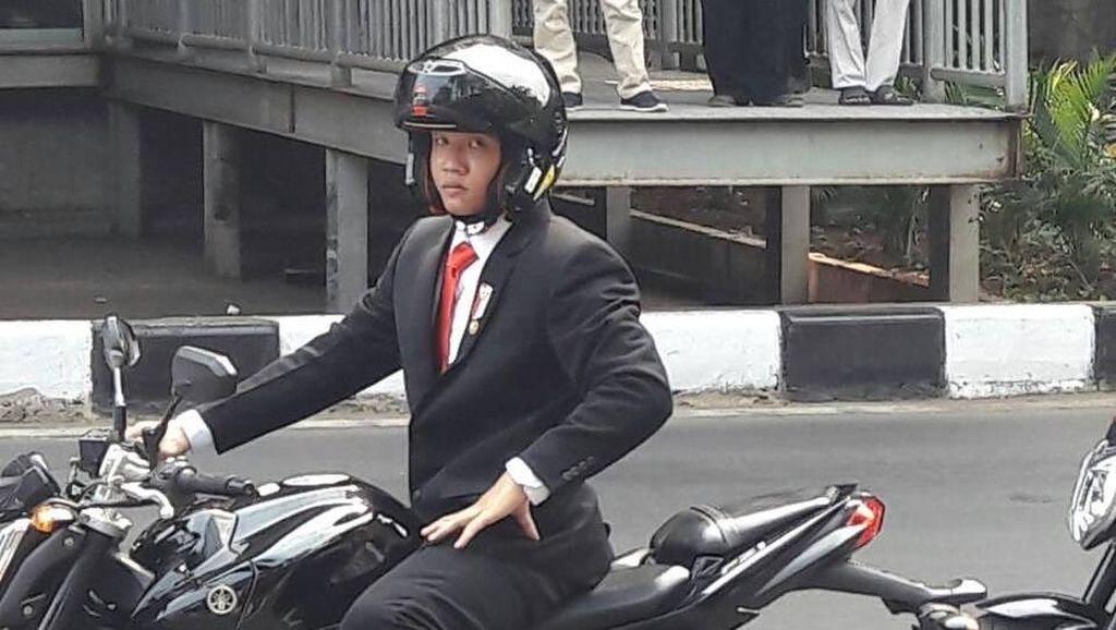 Buka Suara, Ini Aksi Pria Thailand Saat Jadi Stuntman Jokowi