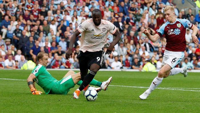 Penyerang Manchester United, Romelu Lukaku. (Foto: Phil Noble/Reuters)