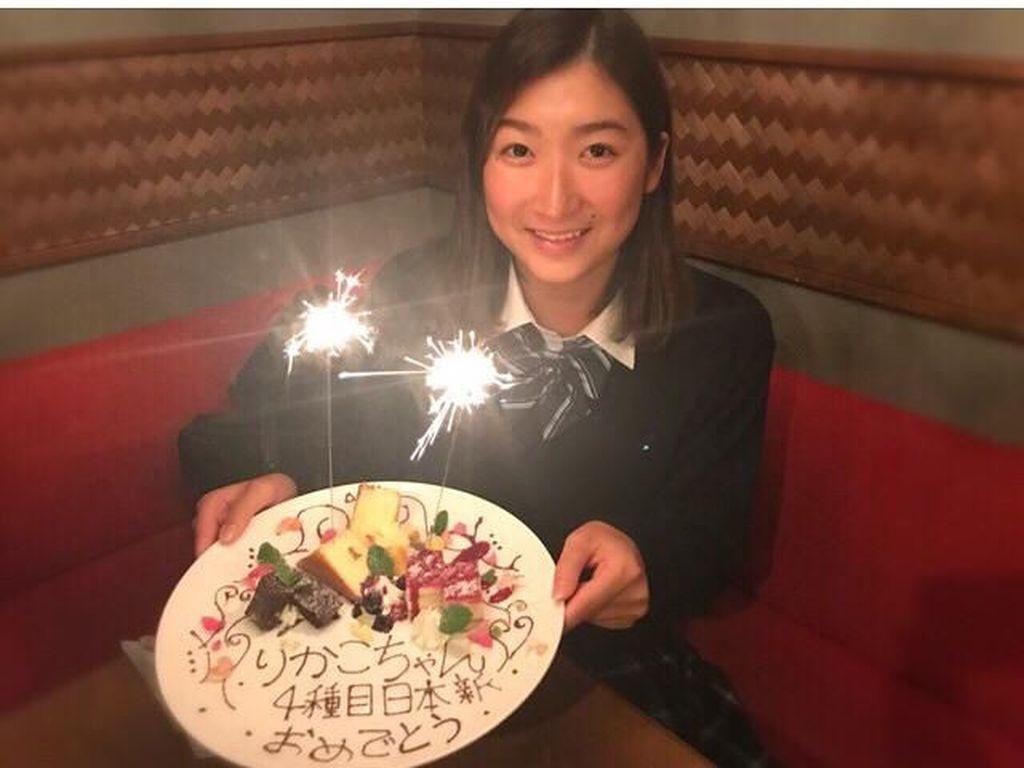 Doyan Makan Cake, Ini si Cantik Rikako Ikee, Atlet Terbaik AG 2018
