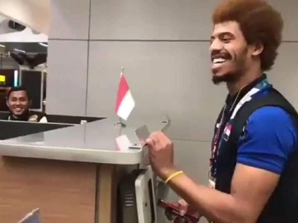 Ulah Atlet Irak di Gerbang Imigrasi Bikin Ngakak