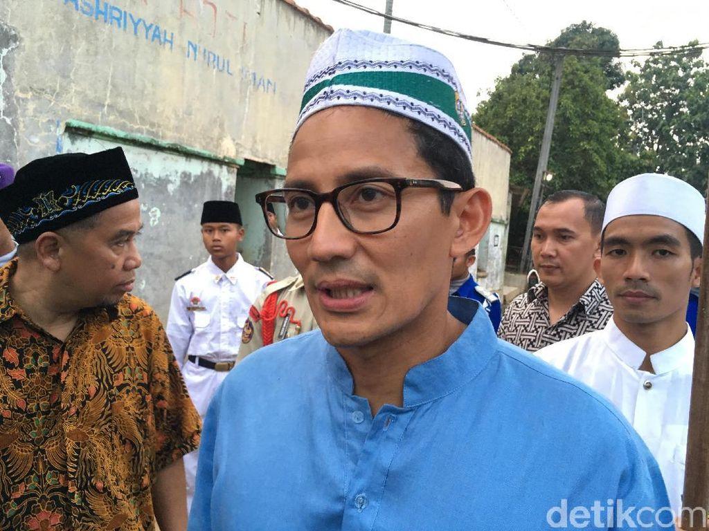 Dolar AS Ngamuk, Sandi: Prabowo Minta Tak Saling Menyalahkan