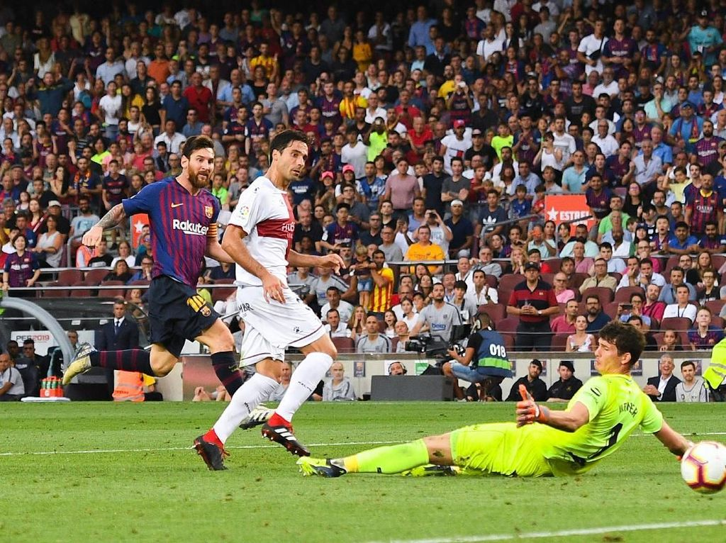Hasil Liga Spanyol: Barcelona Libas Huesca 8-2