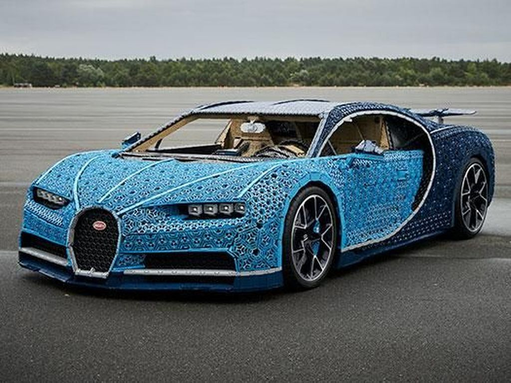 Keren! Begini Penampakan Bugatti Chiron dari Lego