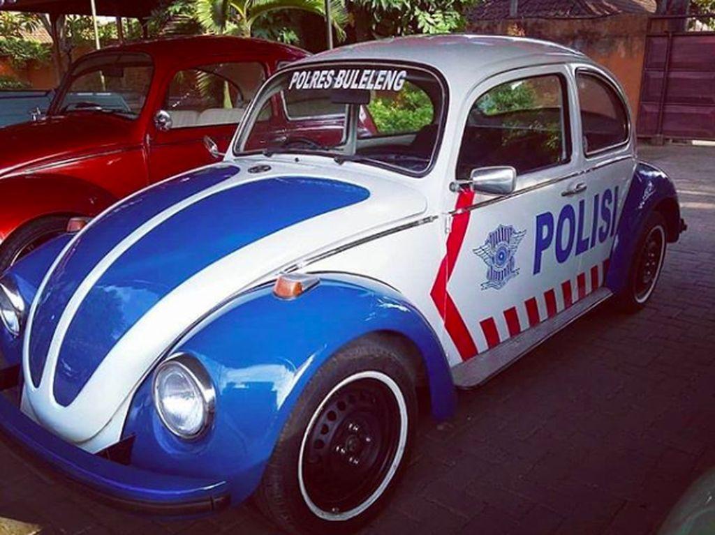Keren, VW Kodok Jadi Mobil Patwal Bali