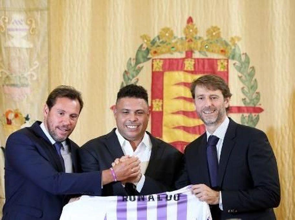 Ronaldo Resmi Jadi Pemilik Real Valladolid