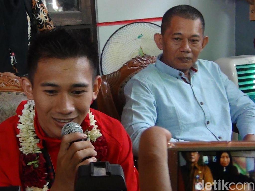 Sabet Medali Emas Asian Games, Pesilat Iqbal Disambut Meriah di Samarinda