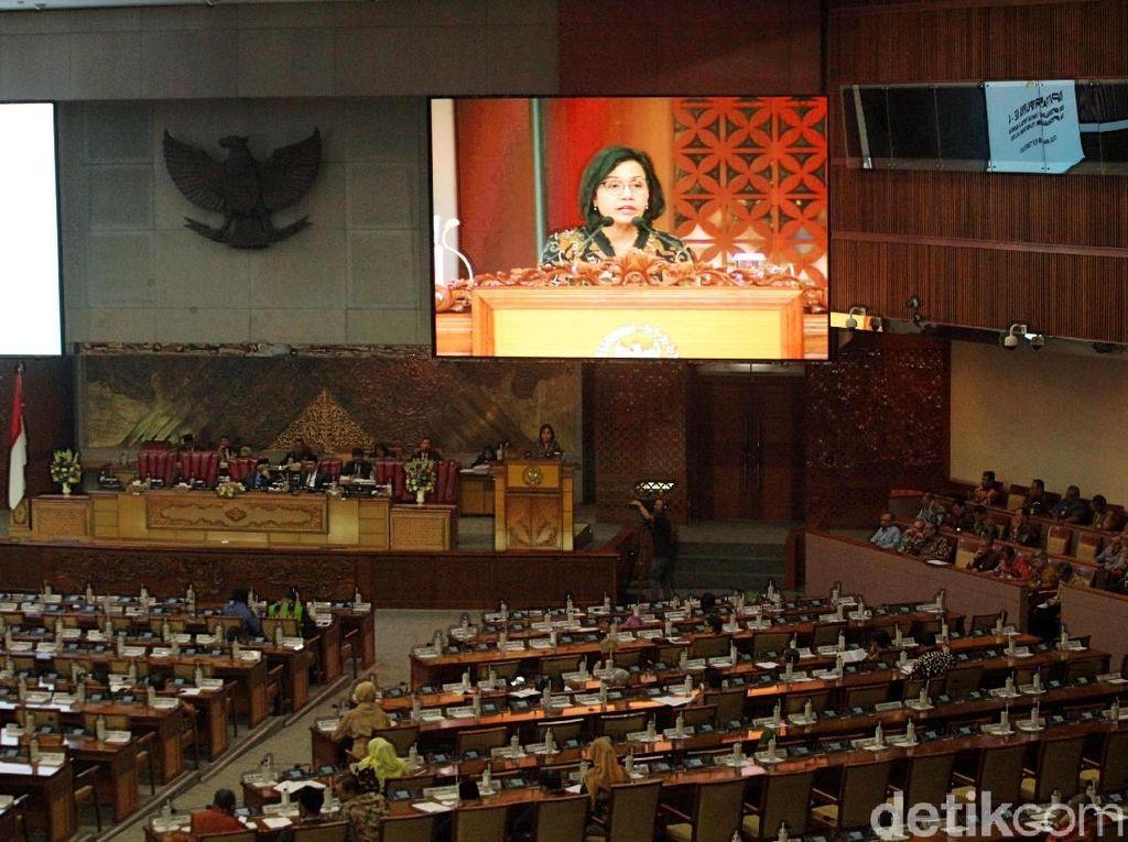 Bahas RAPBN 2019 dan Nota Keuangan, DPR Rapat Bersama Pemerintah