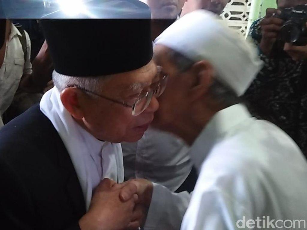 Terungkap, Ternyata Mbah Moen yang Tunjuk Maruf Jadi Cawapres Jokowi