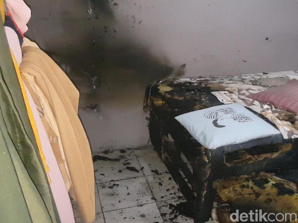 Video: Ledakan Keras di Kamar Kos Sukabumi, Polisi Turun Tangan