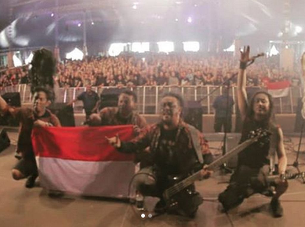 Berbatik di Jerman, Down For Life Ingin Bangun Relasi di Wacken Open Air