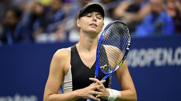 Selain Roger Federer, Maria Sharapova juga gagal melangkah ke perempat final AS Terbuka 2018.