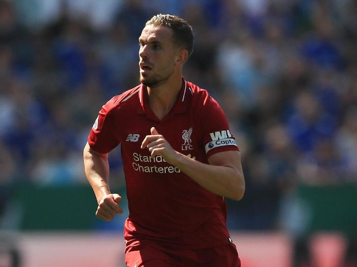 Jordan Henderson teken kontrak baru di Liverpool. (Foto: Marc Atkins/Getty Images)