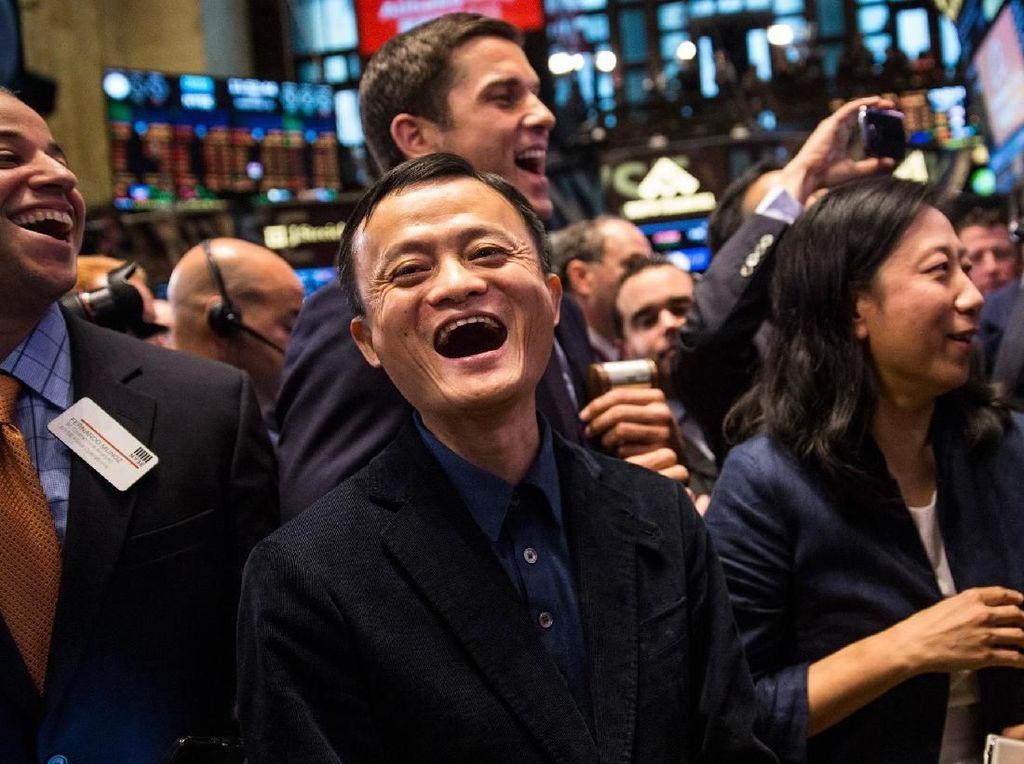 Beragam Ekspresi Jenaka Jack Ma