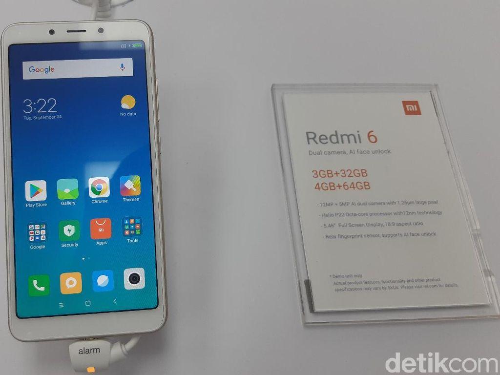 Lebih Dekat dengan Xiaomi Redmi 6 dan 6A