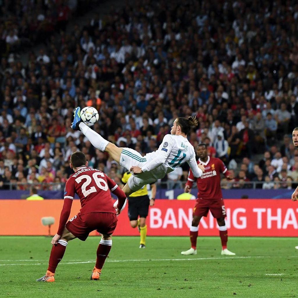 Bale: Gol Saltoku Lebih Pantas Dapat Puskas Award Ketimbang Salah