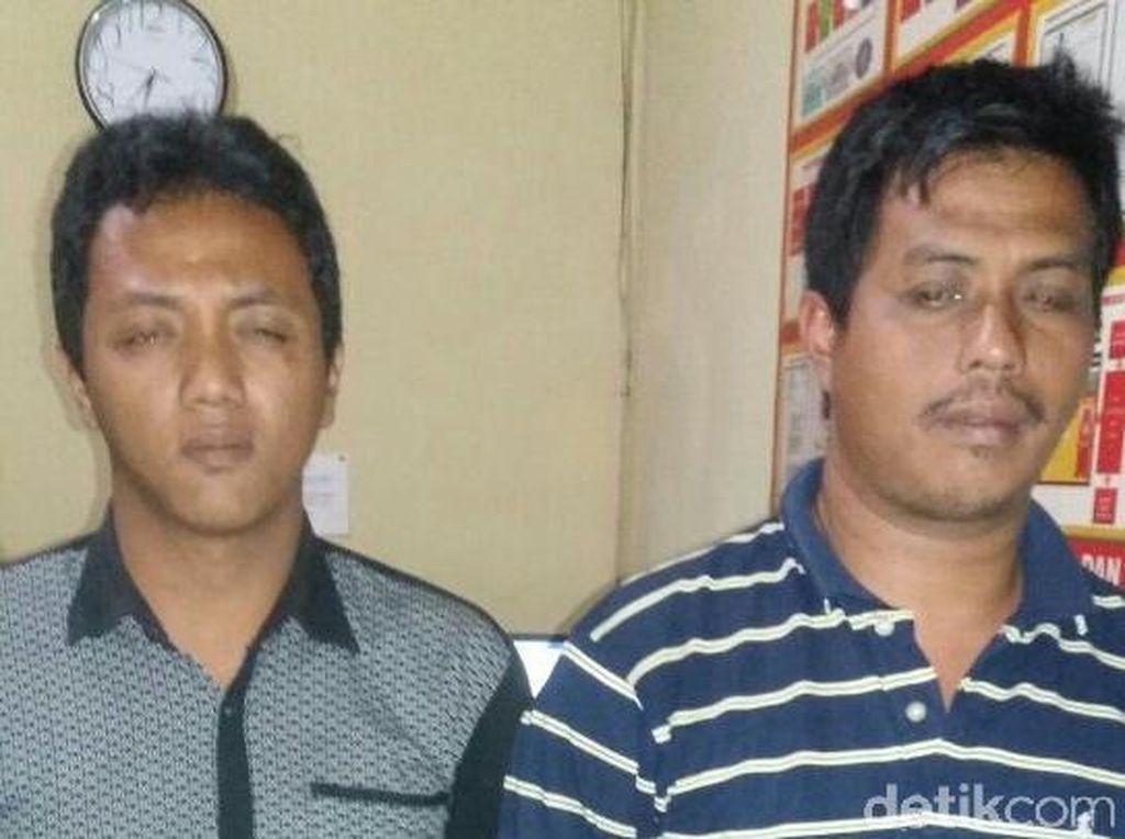 Keroyok Polisi Pakai Pipa Besi, Dua Pria Asal Trenggalek Ditangkap