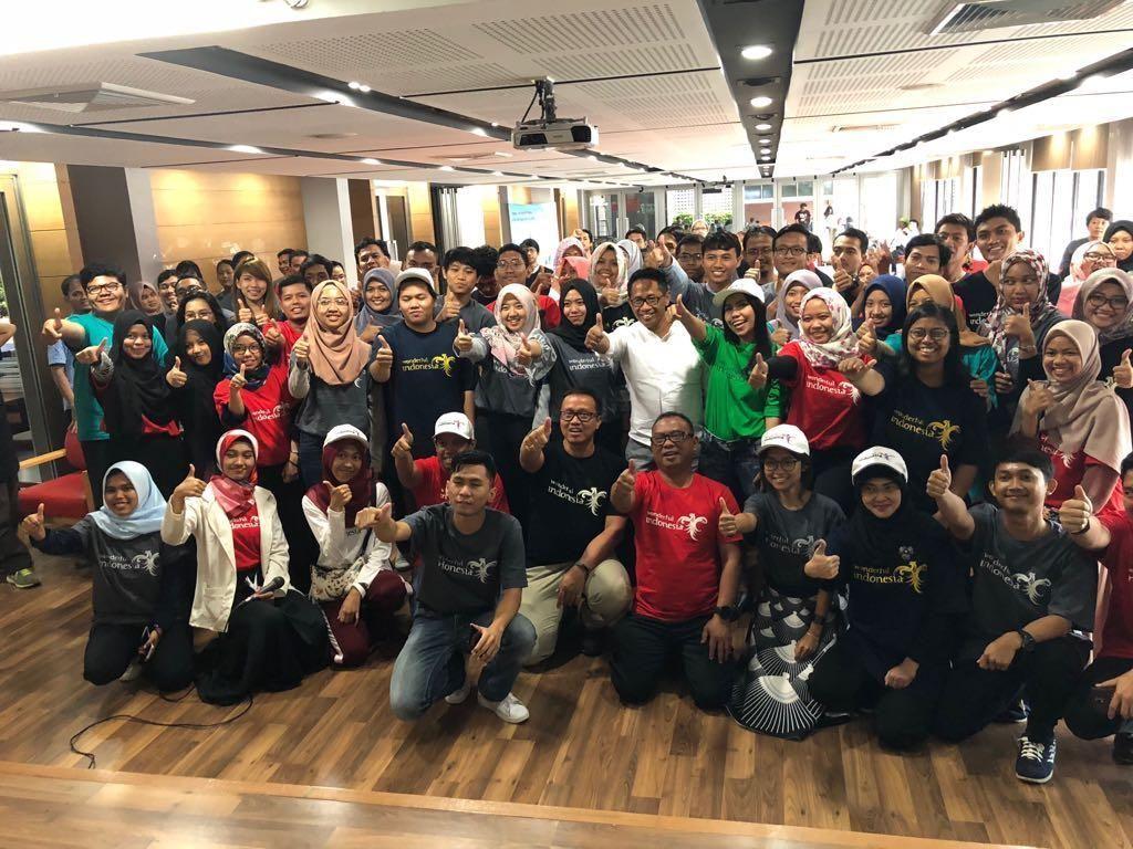 Mahasiswa RI di Thailand Siap Promosikan Wonderful Indonesia