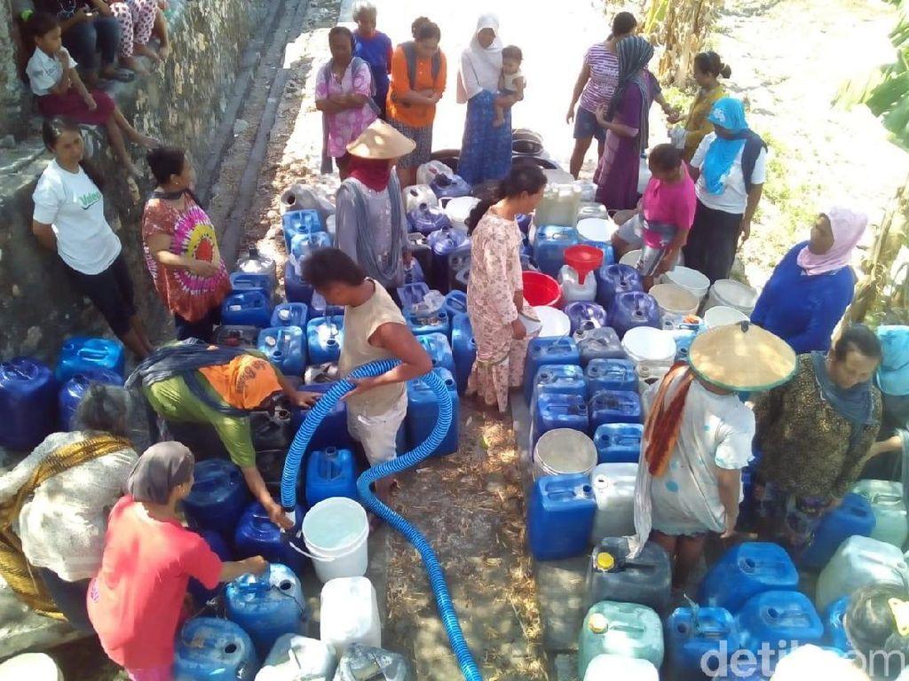 Kekeringan Meluas, 89 Desa di Grobogan Krisis Air Bersih