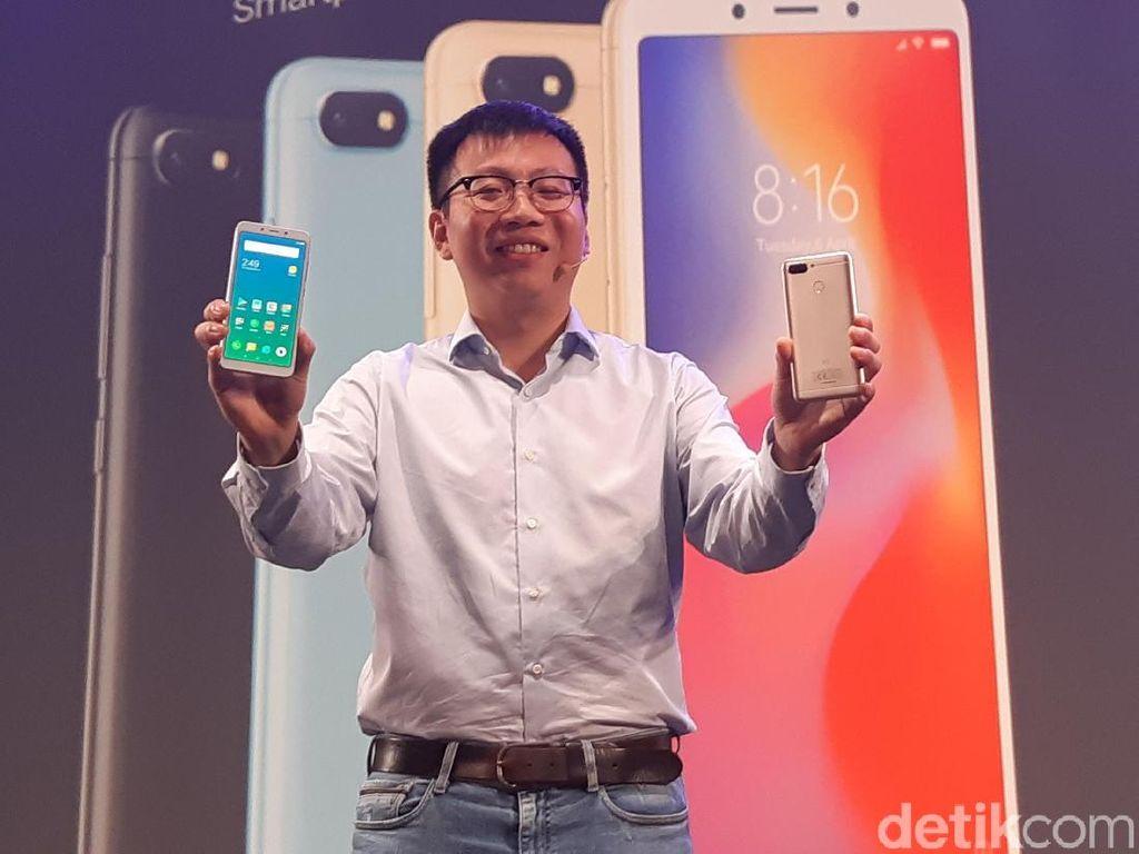 Masuk Indonesia, Ini Harga Xiaomi Redmi 6 dan 6A