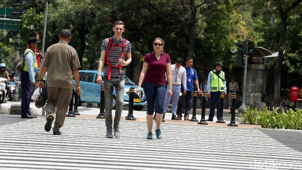 Pelican Crossing Wujudkan Jakarta Ramah Bagi Semua Warga