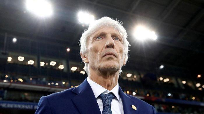 Jose Pekerman mundur sebagai pelatih Kolombia. (Foto: Maxim Shemetov/Reuters)