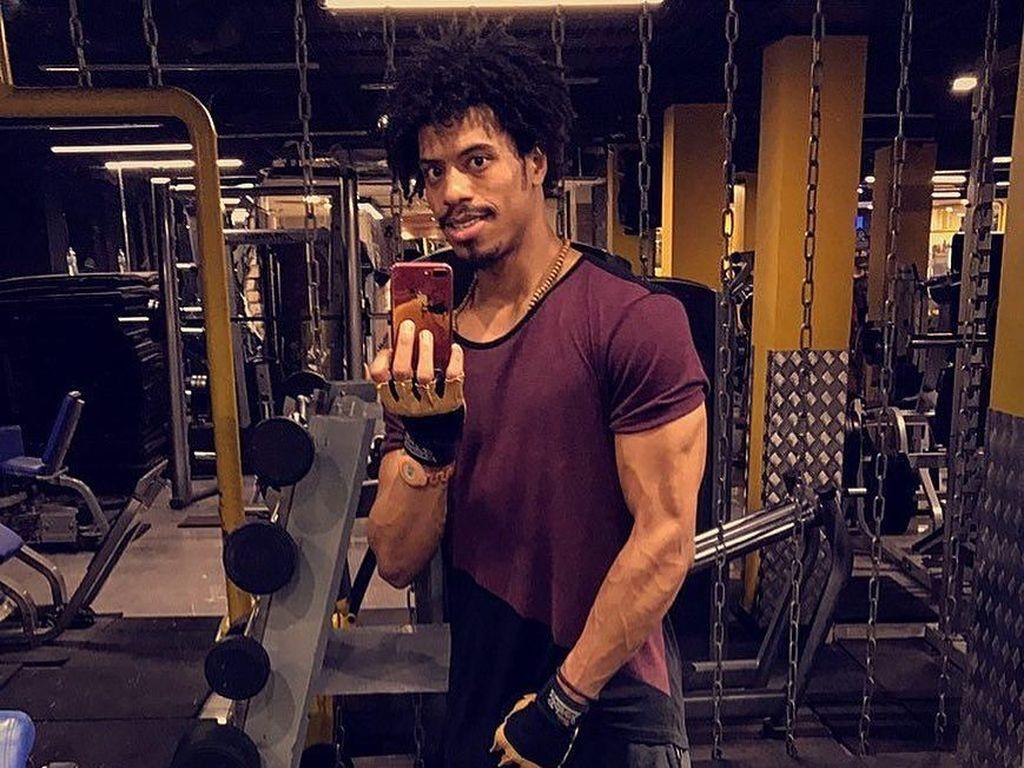 Viral Nyanyi Indonesia Raya, Intip Kekarnya Atlet Irak Bader Hamodi