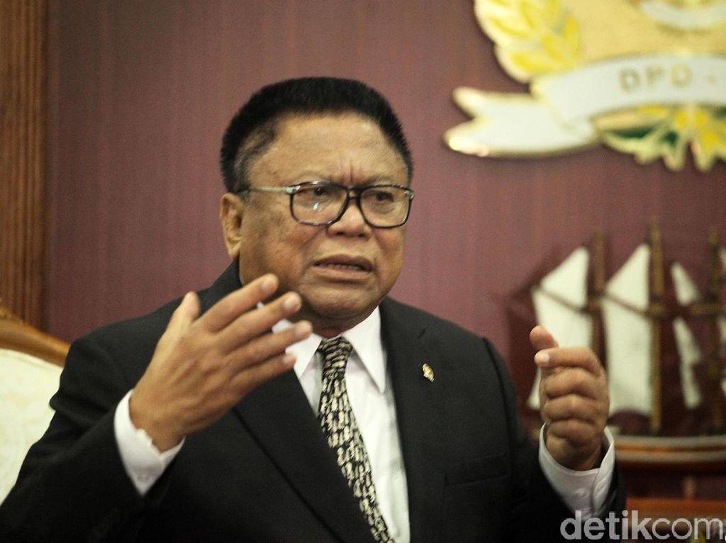 OSO: Kami Dukung Rencana Pemerintah Pindahkan Ibu Kota