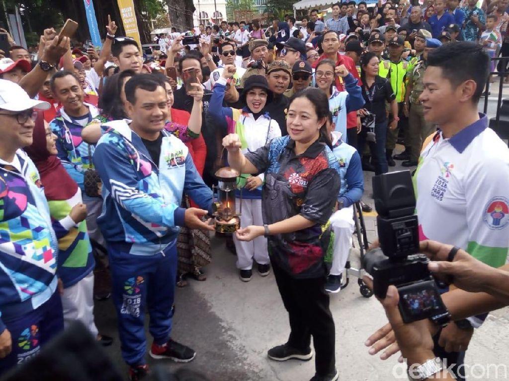 Dari Solo ke Jakarta, Obor Asian Para Games Lewati Sembilan Kota