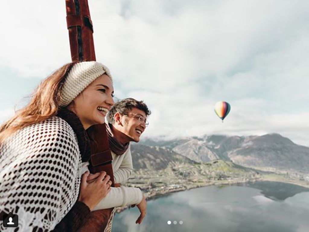 Pulang Honeymoon, Nadine-Dimas Mau Boyong Keluarga ke Selandia Baru