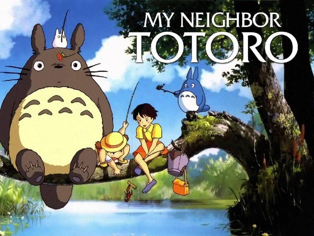 Buku Bergambar Totoro Menginspirasi Pameran di Museum Ghibli