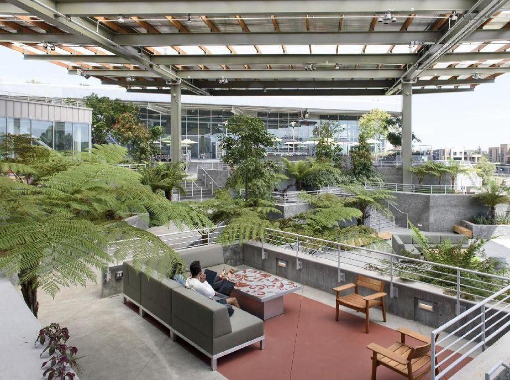 Kantor Baru Facebook yang Super Modern Ini Bikin Iri