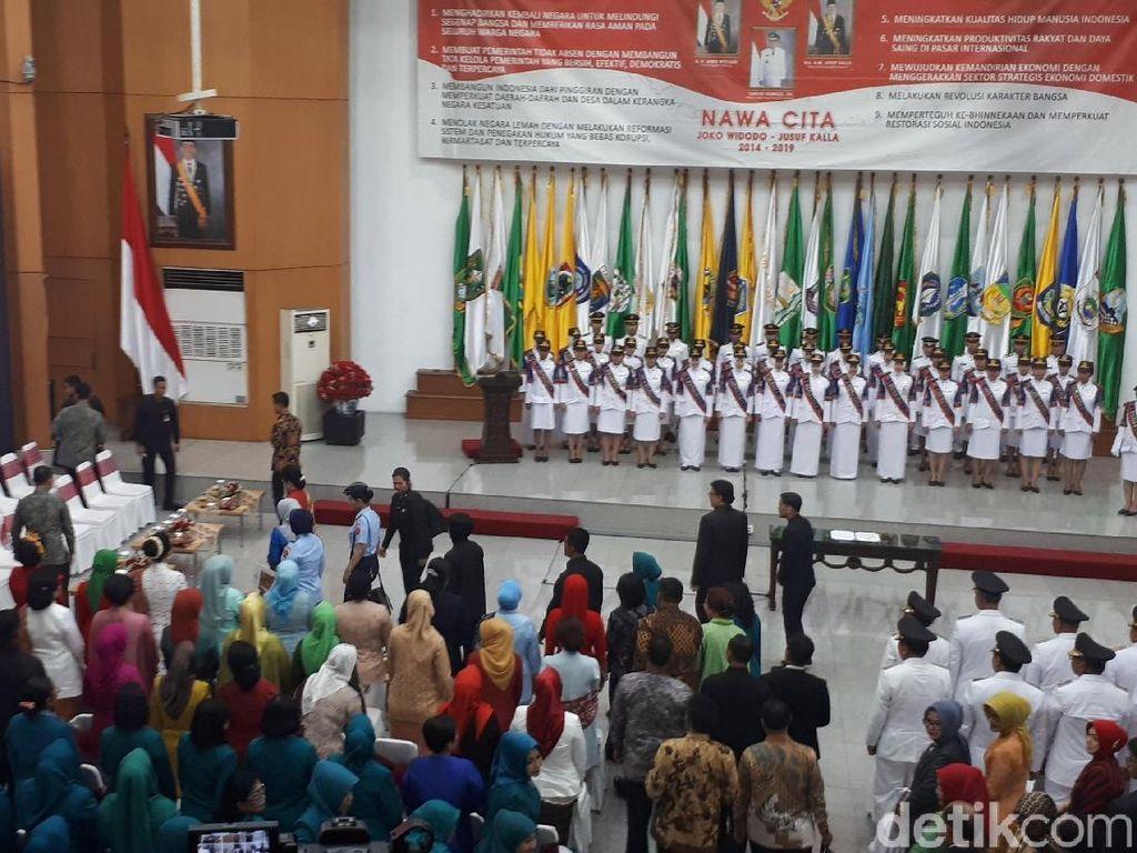Iriana Hadiri Pelantikan 9 Istri Gubernur Jadi Ketua Dekranasda