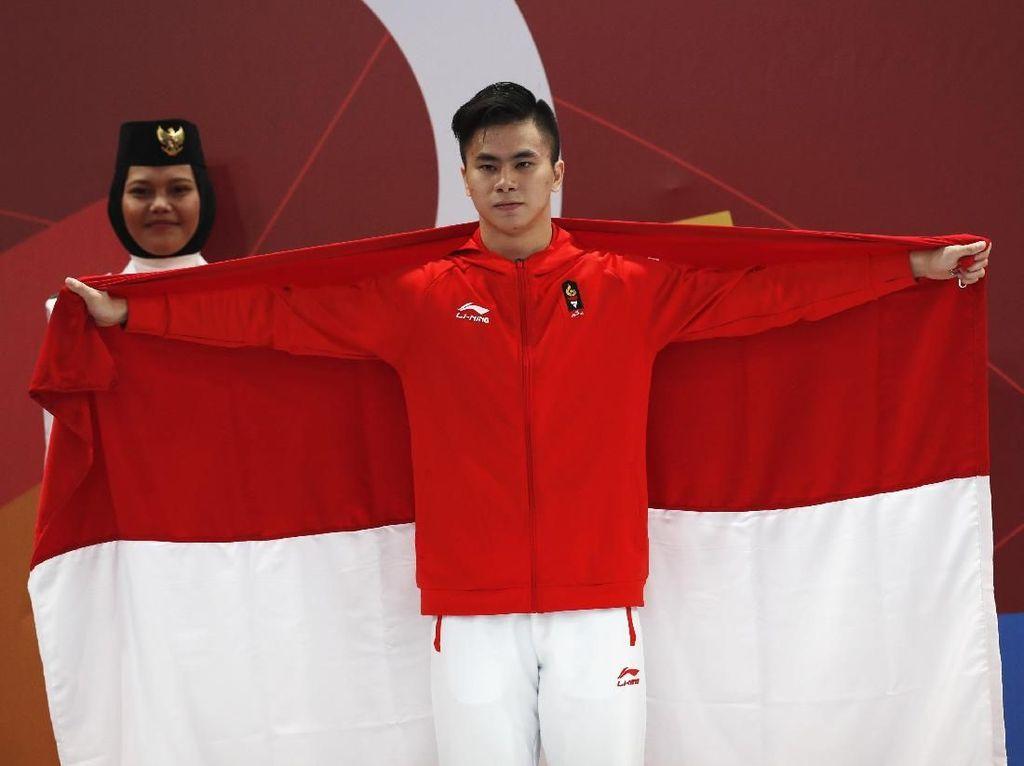 Edgar Xavier si Peraih Medali Pertama untuk Indonesia di Asian Games 2018