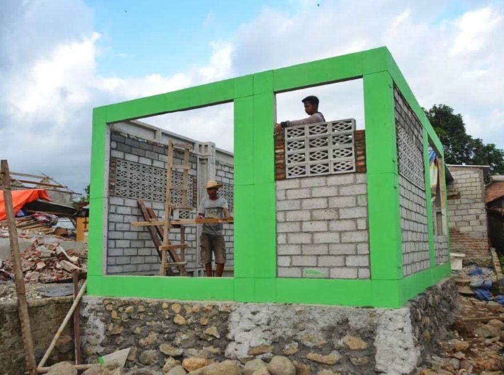 700 Rumah Anti Gempa Dibangun untuk Korban Bencana di Lombok